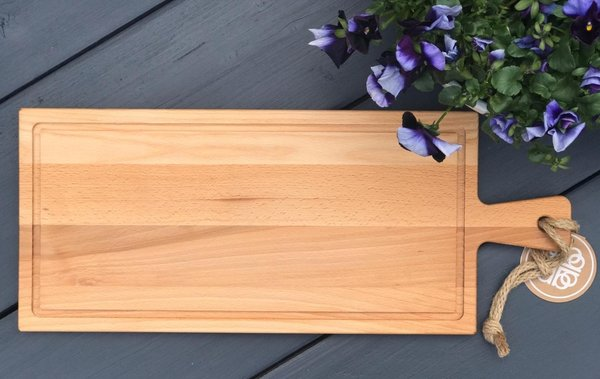 Puur Hout Steakplank 59x 24cm